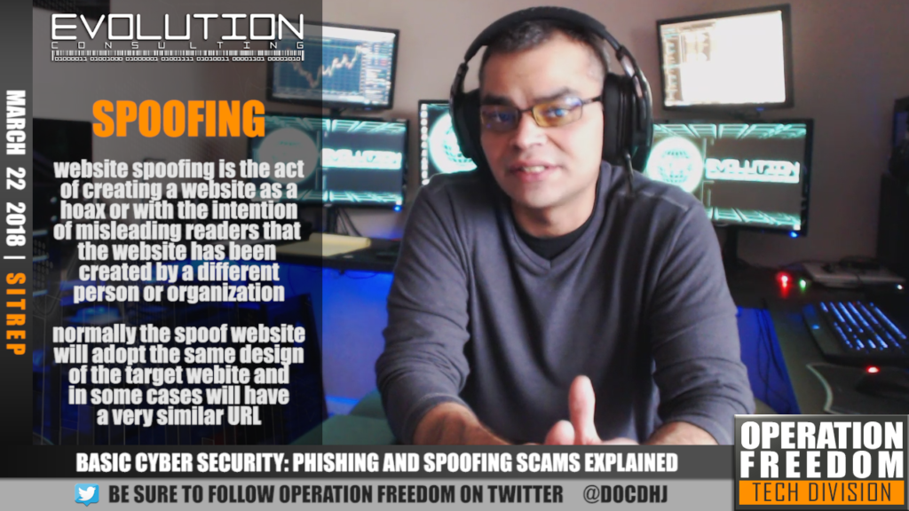 D.A.R. - Basic Cyber Security   Phishing & Spoofing - March 2018