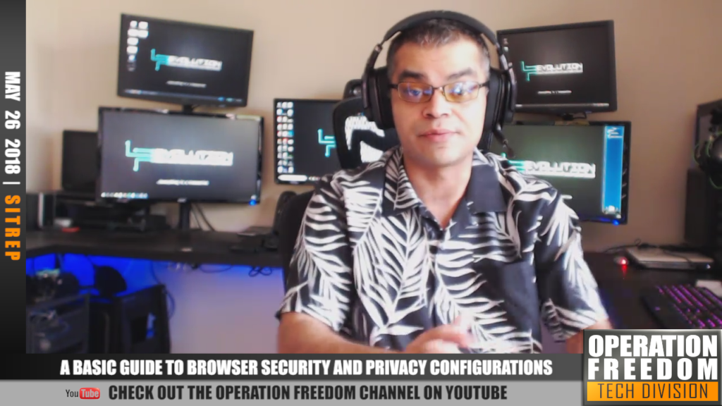 D.A.R. - Basic Internet Privacy &  Browser Security Options - May 2018