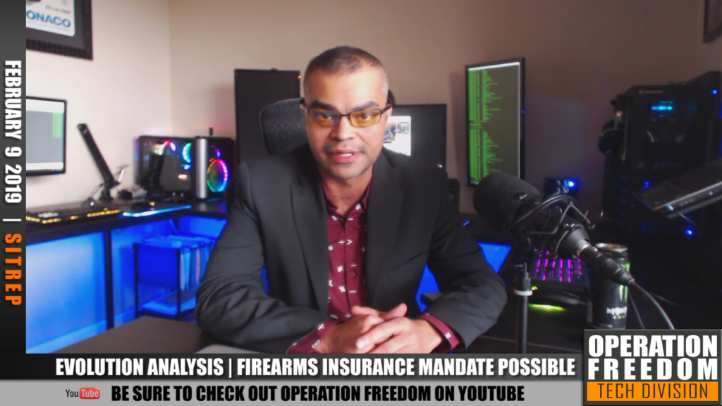 D.A.R. - Evo Research: Mandatory Firearms Insurance Possible