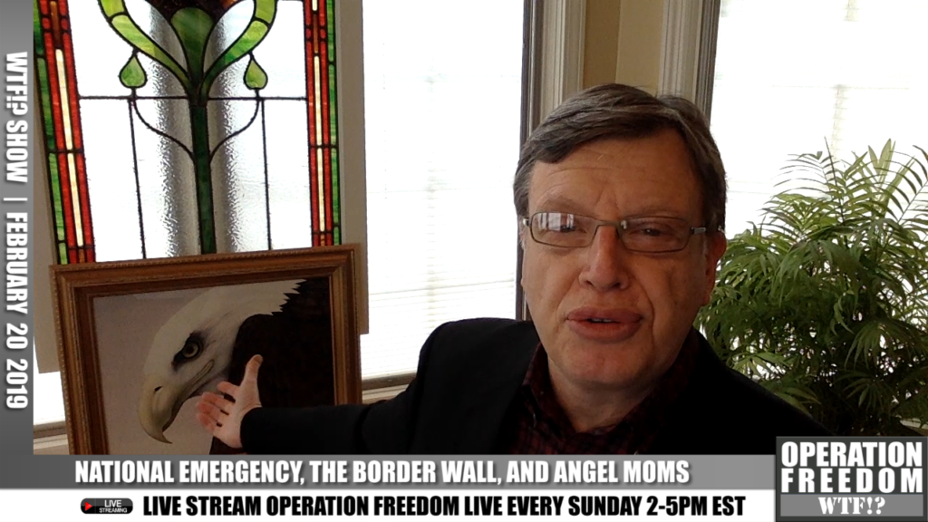 WTF Show?! - The National Emergency, The Border Wall & The Angel Moms - February 20, 2019