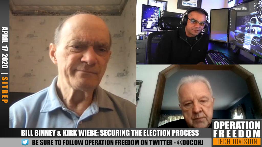 D.A.R. - Bill Binney & Kirk Wiebe - Election Security Analysis - April 2020
