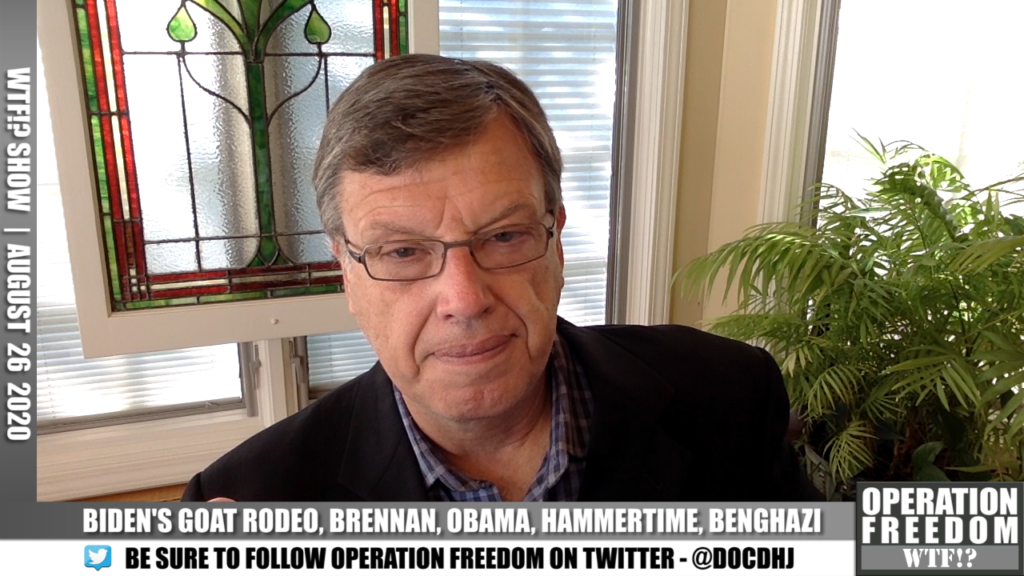 WTF?! - Biden's Goat Rodeo, Brennan, Obama, Hammertime, More - August 26 2020