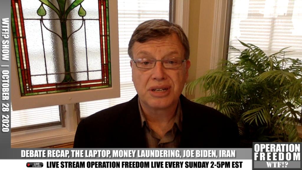 WTF?! - Debate Recap, The Laptop, Money Laundering, Joe Biden, Iran - October 28 2020