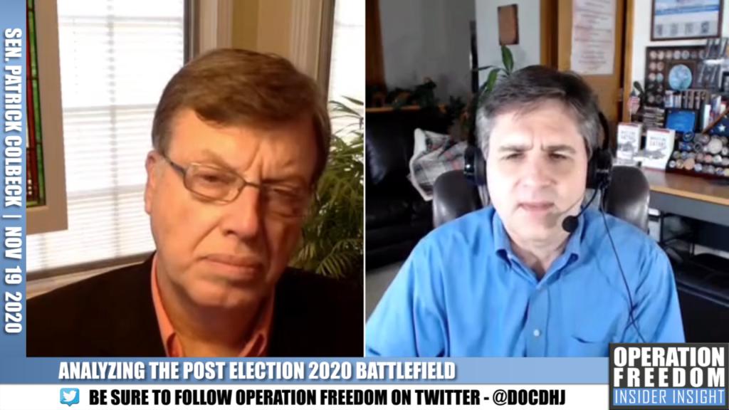 Insider Insight - Patrick Colbeck - November 2020
