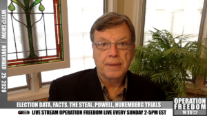 WTF?! - Election Data, Facts, The Steal, Powell, Nuremberg Trials - November 25 2020
